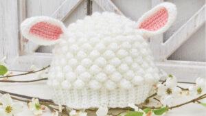 Crochet Sweet Lamb Hat