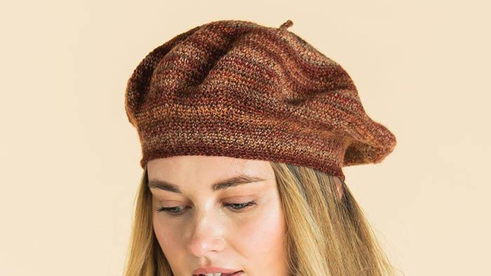 Kroy FX Crochet Beret