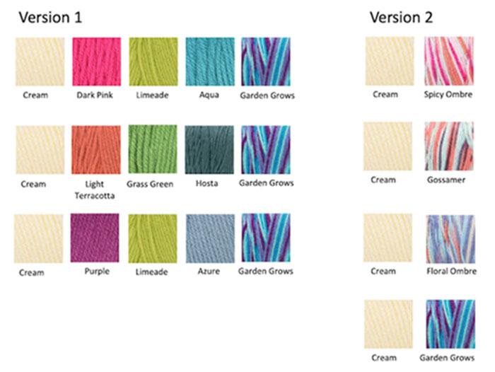 Stitch Along Colour Options