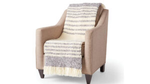 Crochet Twist and Weave Blanket