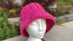 Crochet Cloche Bell Hat