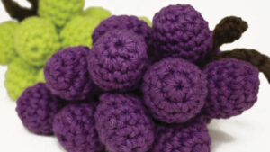 Crochet Bunches of Grapes