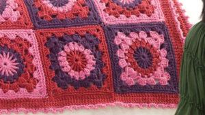 Crochet Mixed Berries Afghan