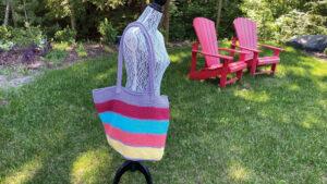 Crochet Odd Balls Cotton Bag