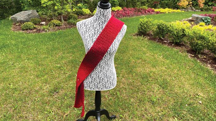 Crochet Sash