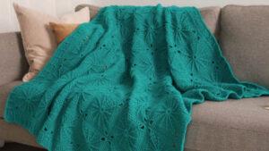 Crochet Sunny Spread Throw
