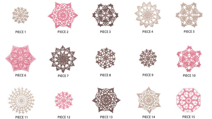 Lovely Lace Table Runner Crochet Doilies