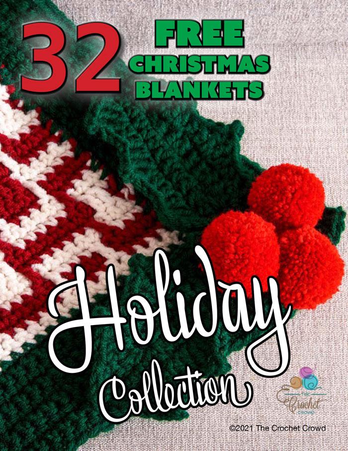 32 Free Christmas Blanket Patterns eBook