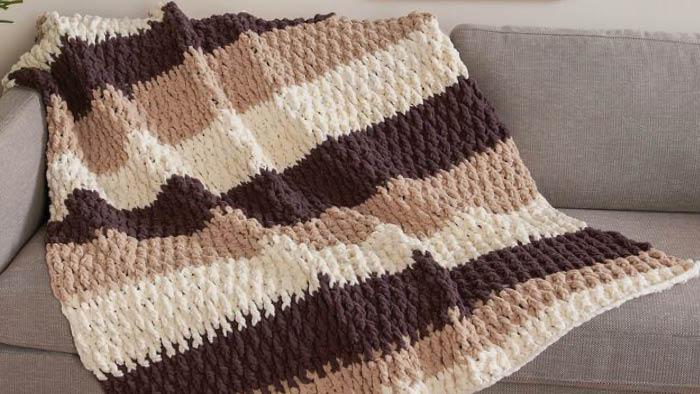 Crochet Lush Life O'Go Blanket