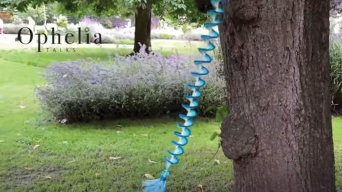 Crochet Wind Spinner by Ophelia