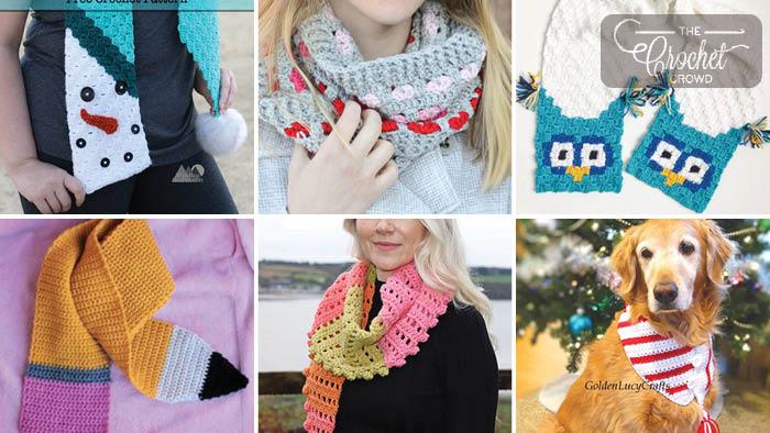 15 Crochet Scarf Patterns