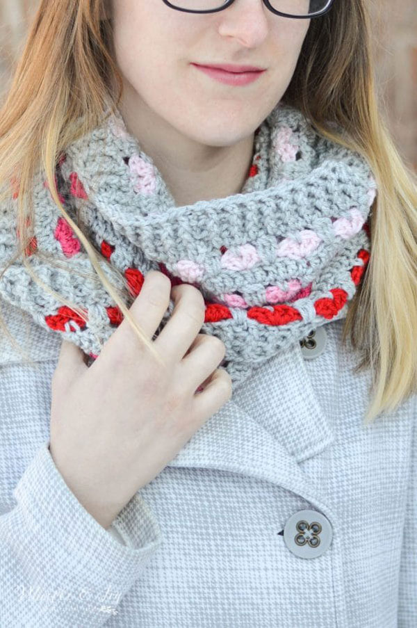 Puppy Love Infinity Scarf