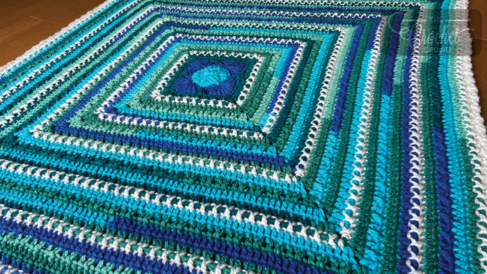 Baby on the O'Go Blanket by Jeanne Steinhilber
