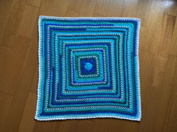 Baby on the O'Go Blanket por Jeanne Steinhilber