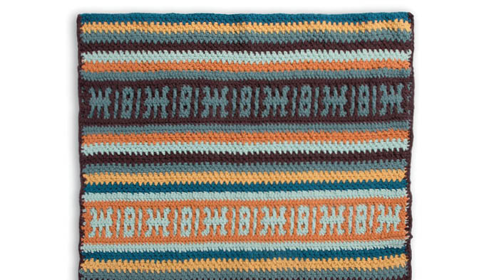 Bernat Banket Color Play Mosaic Stripes