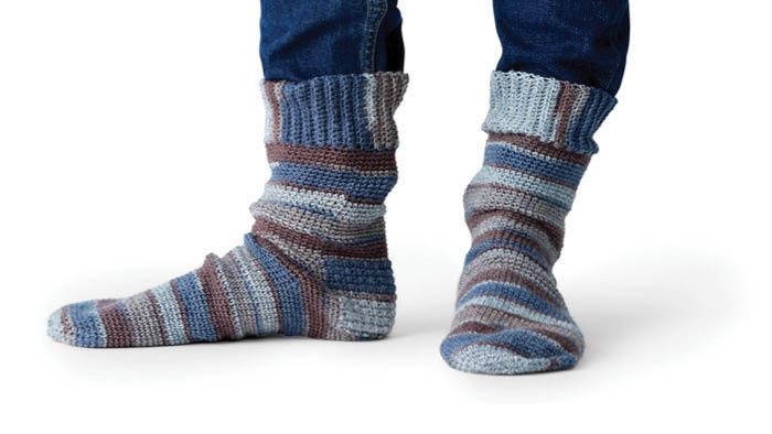Crochet Family Socks 2021