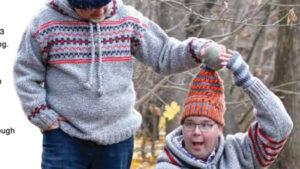 Crochet N'or Easter Hat