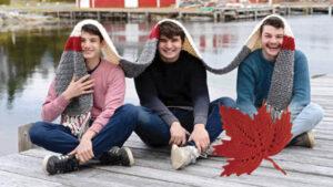 Crochet Nova Scotia Heritage Scarf