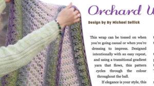 Crochet Orchard Wrap