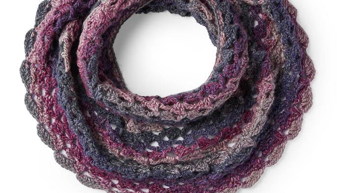 Crochet Roundabout Off the Shoulder Cowl