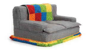 Crochet Easy Cat Couch