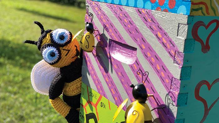 Crochet Mikey Bee