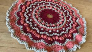 Crochet Gingerbread Afghan