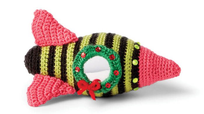 Crochet Out of This World Spaceship Toy