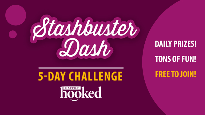 Stashbuster 5-Day Challenge with Happily Hooked
