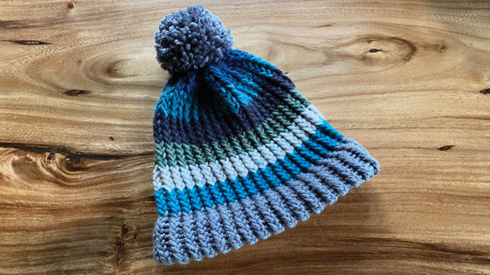 Mix it Up Before You O'Go Loom Knit Hat