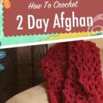Crochet 2 Day Afghan Pattern