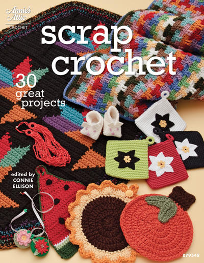 Around The Corner Crochet Borders Book by Edie Eckman