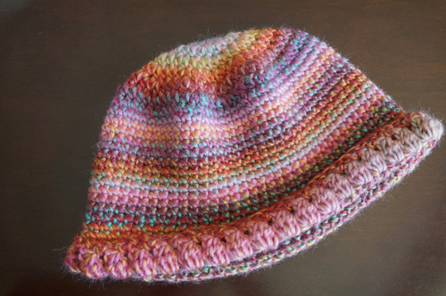 Women's Crochet Beanie Hat Pattern