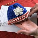 American Loom Knit Baby Hat