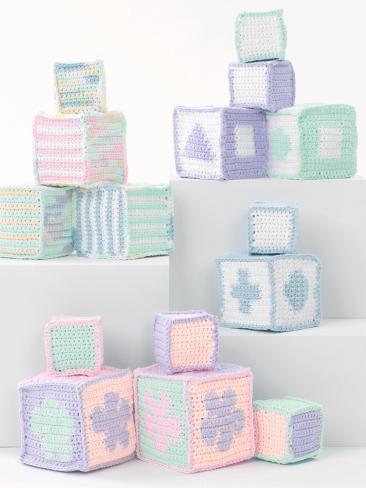 Baby Blocks Crochet Pattern