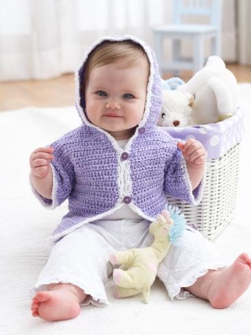 Crochet Hoodie Jacket Pattern