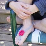 Barefoot Crochet Sandals