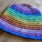 Back Loop Beanies Reversible Pattern