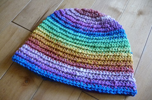 ... may 18 2014 mikey the crochet crowd back beanie crochet crochet crowd