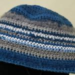 Crochet Striped Stylish Beanie Hat