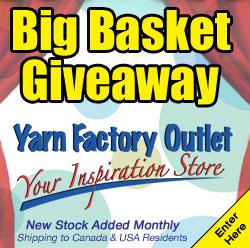 Big Yarn Basket Giveaway