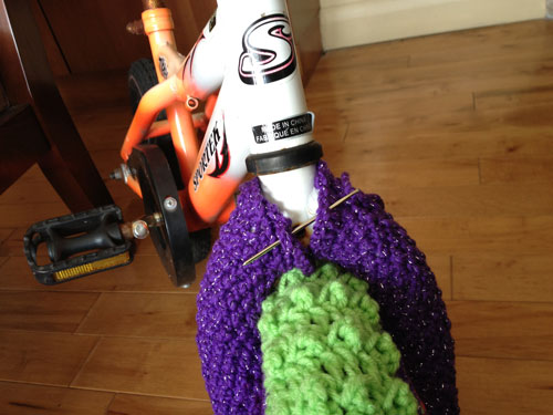 Customing Project to the Yarn Bike