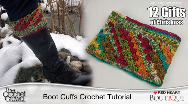 Crochet Boot Cuffs The Crochet Crowd