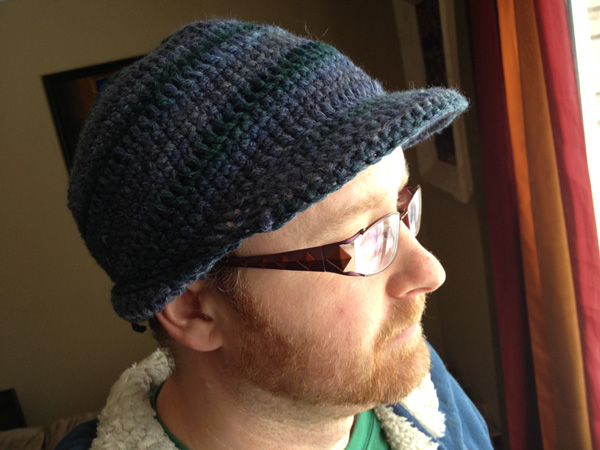 Mens Brim Crochet Hat The Crochet Crowd