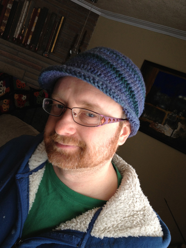 Crochet Pattern Mens Hat With Brim : Mens Brim Crochet Hat - The Crochet Crowd