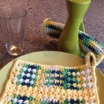 Bump & Scrub Dish Cloth