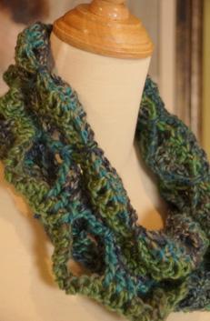 Crochet Buttefly Scarf