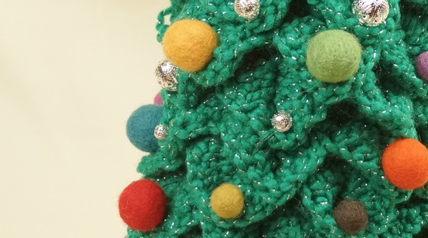 i used felted balls by handbe christmas tree 12