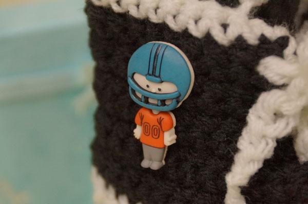Crochet Classic High Top Bootie