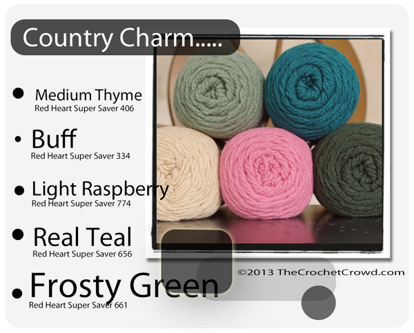 Country Charm Inspired Colours